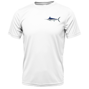 Marlin on Chest Short Sleeve UPF 50+ Dry-Fit Shirt