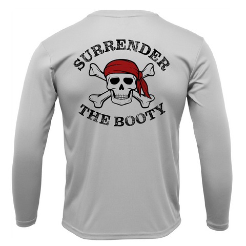 """Surrender The Booty"" Long Sleeve UPF 50+ Dry-Fit Shirt"