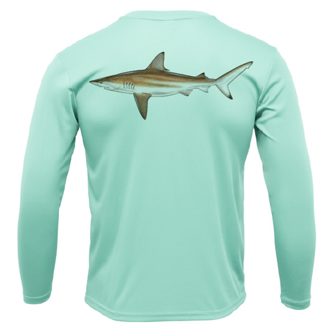 Blacktip Long Sleeve UPF 50+ Dry-Fit Shirt