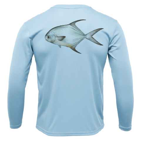 Siesta Key Permit Long Sleeve UPF 50+ Dry-Fit Shirt