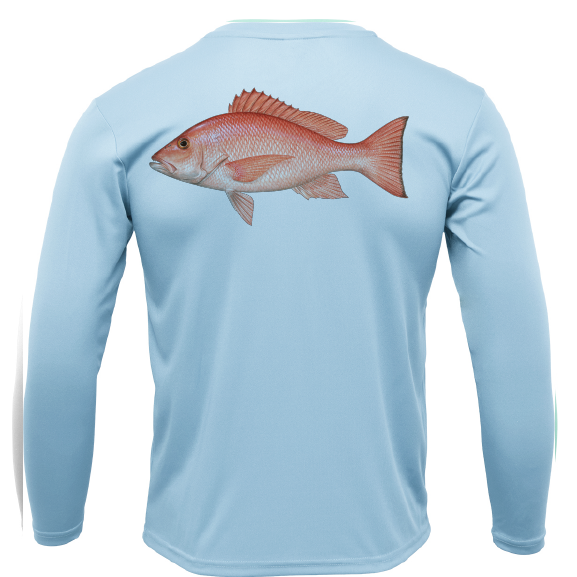 Snapper Long Sleeve UPF 50+ Dry-Fit Shirt