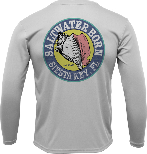 Siesta Key Florida Diver Long Sleeve UPF 50+ Dry-Fit Shirt