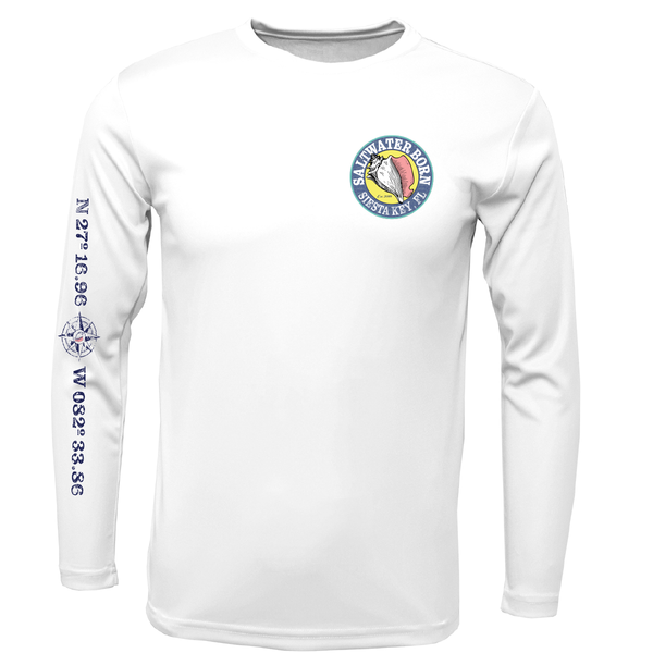 Siesta Key Hogfish Long Sleeve UPF 50+ Dry-Fit Shirt