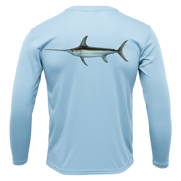 Swordfish Long Sleeve UPF 50+ Dry-Fit Shirt