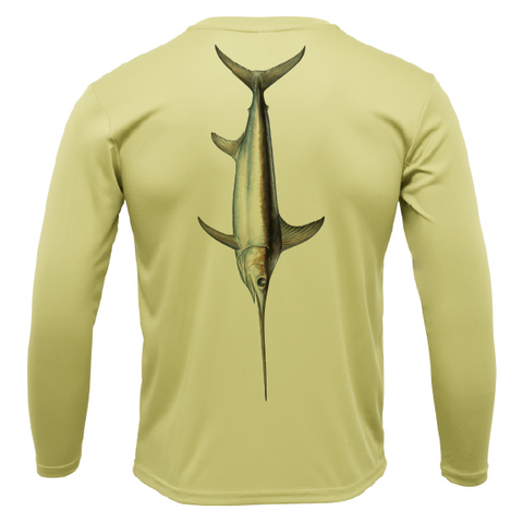 Siesta Key Trophy Sword Long Sleeve UPF 50+ Dry-Fit Shirt