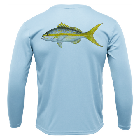 Siesta Key Yellowtail Long Sleeve UPF 50+ Dry-Fit Shirt