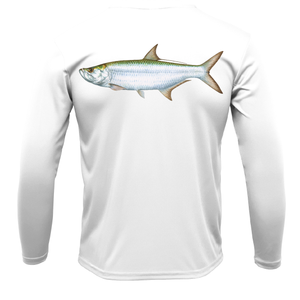 Siesta Key Tarpon Long Sleeve UPF 50+ Dry-Fit Shirt