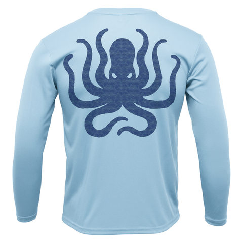 Siesta Key Kraken Long Sleeve UPF 50+ Dry-Fit Shirt