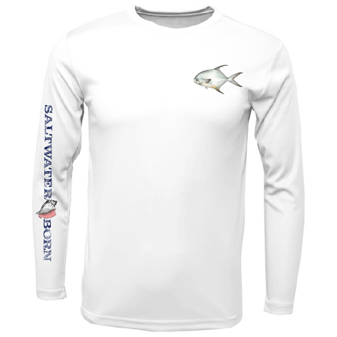 Clean Permit Long Sleeve UPF 50+ Dry-Fit Shirt