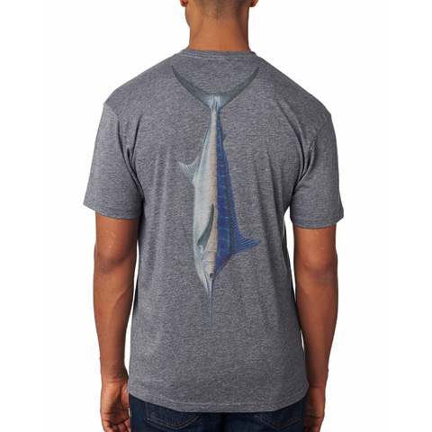 Vintage Blue Marlin Soft Tee