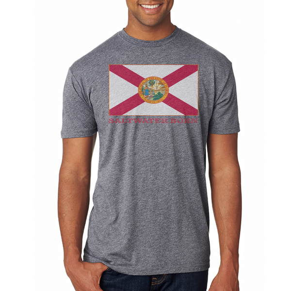 Vintage Florida Flag Soft Tee