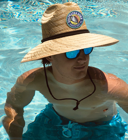 Siesta Key Lifeguard Straw Hat