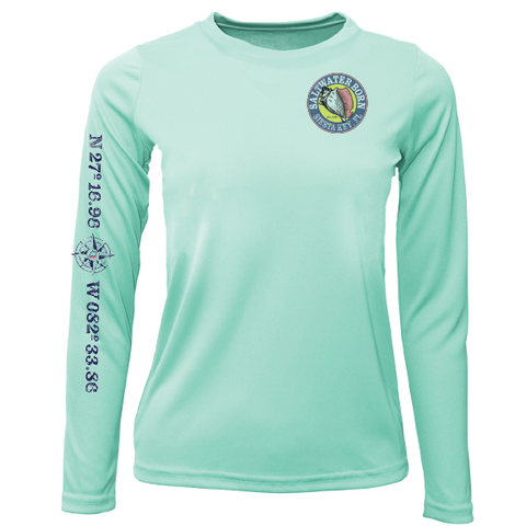 Siesta Key Girls Long Sleeve UPF 50+ Dry-Fit Shirt