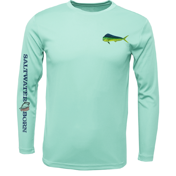 Clean Mahi Long Sleeve UPF 50+ Dry-Fit Shirt