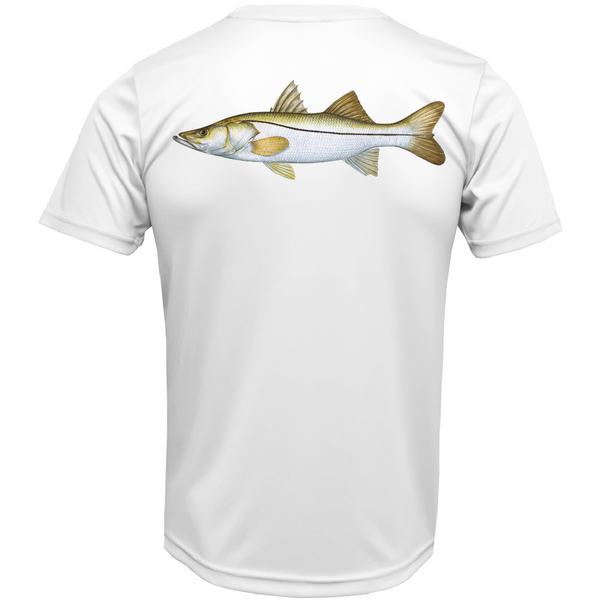 USA Snook Short Sleeve UPF 50+ Dry-Fit Shirt
