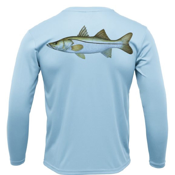 Siesta Key Snook Long Sleeve UPF 50+ Dry-Fit Shirt