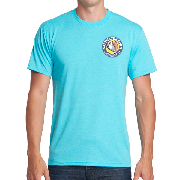 Siesta Key Turtle Soft Tee