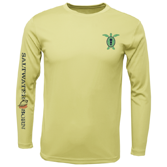 Turtle on Chest Long Sleeve UPF 50+ Dry-Fit Shirt