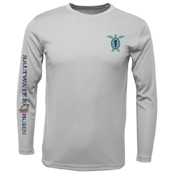 SK Turtle on Chest Long Sleeve UPF 50+ Dry-Fit Shirt
