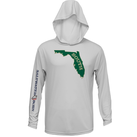 Green and Gold Long Sleeve 50+ Dry-Fit Hoody