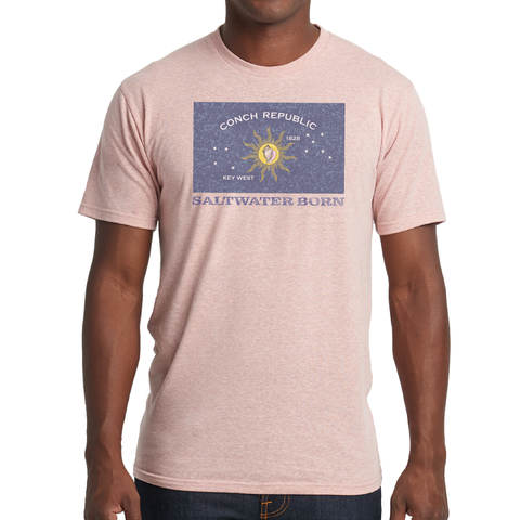 Vintage Conch Republic Soft Tee