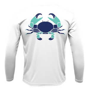 Stone Crab Long Sleeve UPF 50+ Dry-Fit Shirt