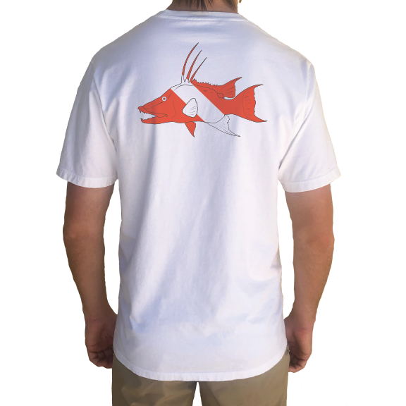 Hogfish Diver Organic Cotton Tee