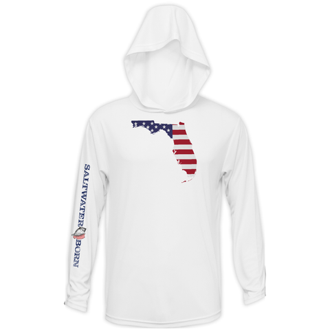 Florida USA Long Sleeve UPF 50+ Dry-Fit Hoody