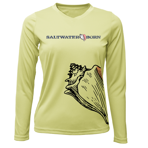 Conch Wrap Long Sleeve UPF 50+ Dry-Fit Shirt