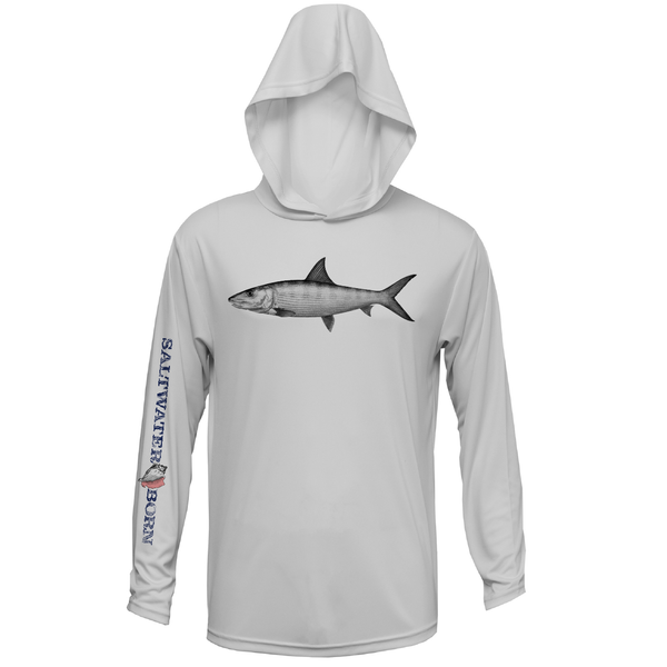 Bonefish Boys and Girls Long Sleeve UPF 50+ Dry-Fit Hoody