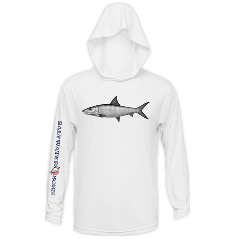 Bonefish Boys Long Sleeve UPF 50+ Dry-Fit Hoody
