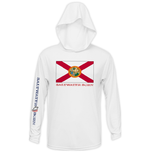Florida Flag Long Sleeve UPF 50+ Dry-Fit Hoody