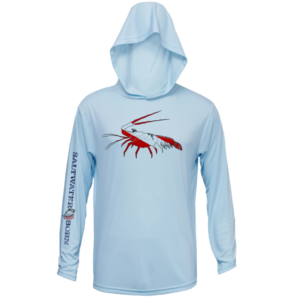 Spiny Lobster Long Sleeve UPF 50+ Dry-Fit Hoody