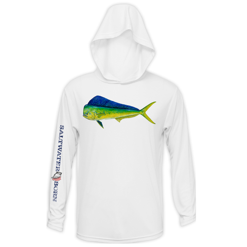Mahi Boys and Girls Long Sleeve UPF 50+ Dry-Fit Hoody