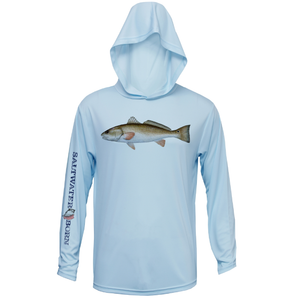 Redfish Boys and Girls Long Sleeve UPF 50+ Dry-Fit Hoody