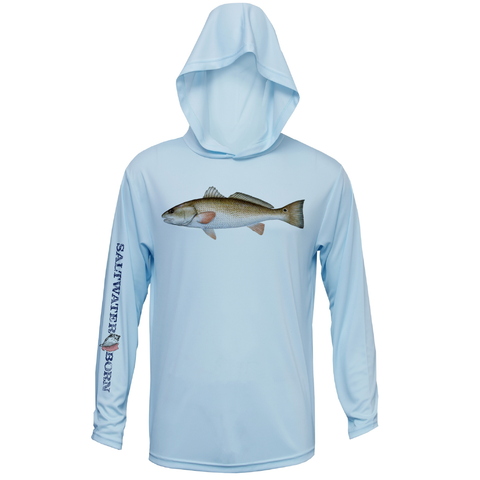 Redfish Boys Long Sleeve UPF 50+ Dry-Fit Hoody