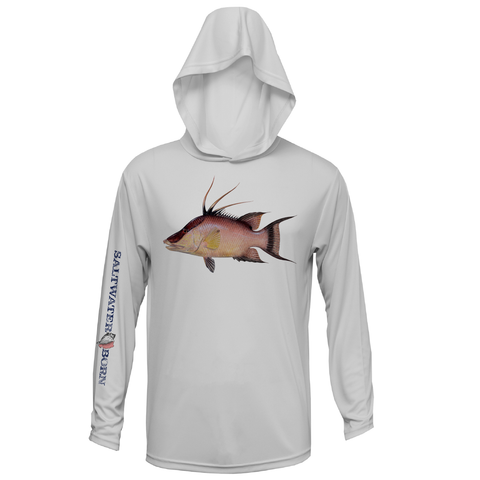 Hogfish Boys and Girls Long Sleeve UPF 50+ Dry-Fit Hoody