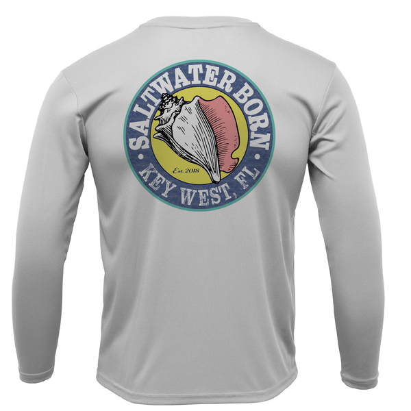 Saltwater Born Boys Long-Sleeve UPF 50+ Dry-Fit Shirt