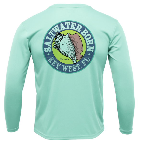 Redfish on Chest Long Sleeve UPF 50+ Dry-Fit Shirt