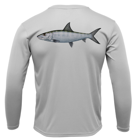 Siesta Key Bonefish Long Sleeve UPF 50+ Dry-Fit Shirt