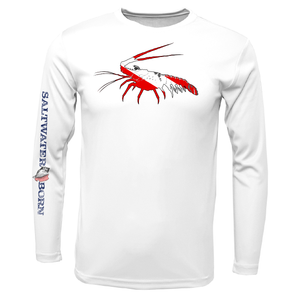 Spiny Lobster Diver Long Sleeve UPF 50+ Dry-Fit Shirt