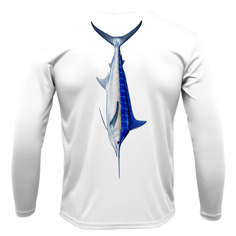 Siesta Key Marlin Long Sleeve UPF 50+ Dry-Fit Shirt