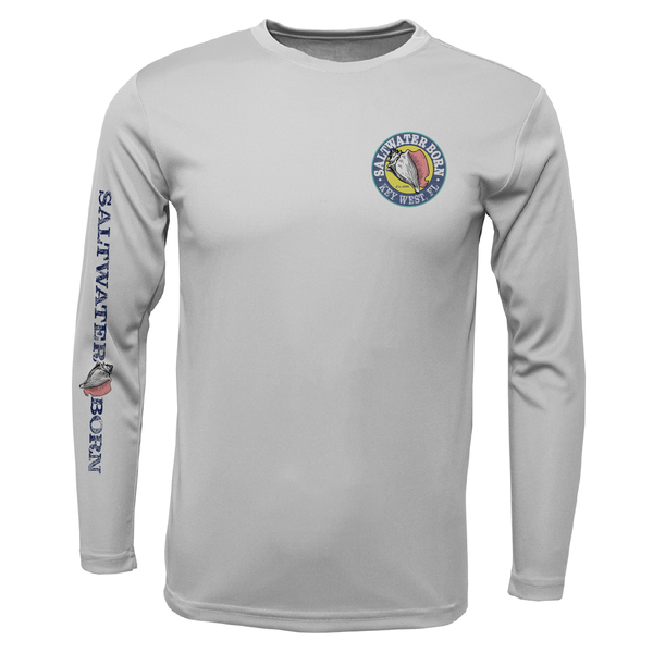 Key West Kraken Boys Long Sleeve UPF 50+ Dry-Fit Shirt