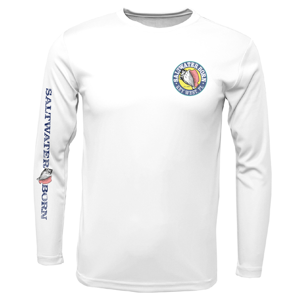 Key West Kraken Long Sleeve UPF 50+ Dry-Fit Shirt