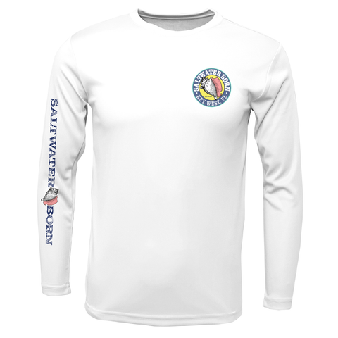 Key West Saltwater Born Long Sleeve UPF 50+ Dry-Fit Shirt
