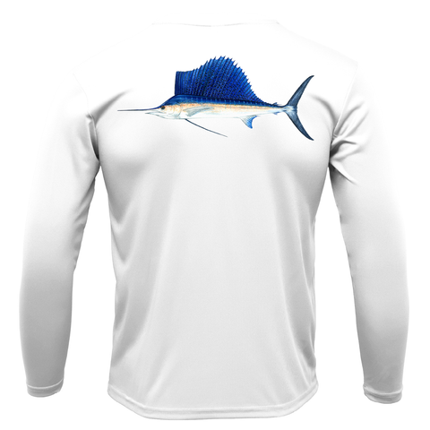 Sailfish Long Sleeve UPF 50+ Dry-Fit Shirt
