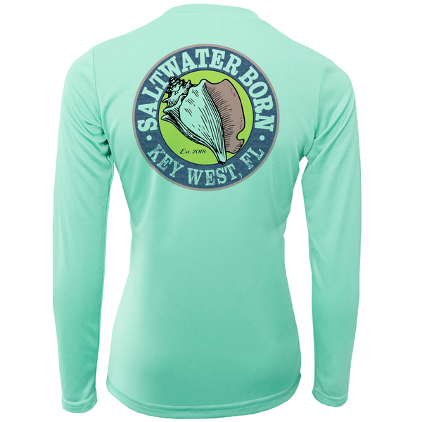 Saltwater Born Long Sleeve UPF 50+ Dry-Fit Shirt