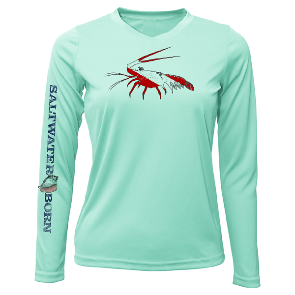 Spiny Lobster Long Sleeve UPF 50+ Dry-Fit Shirt