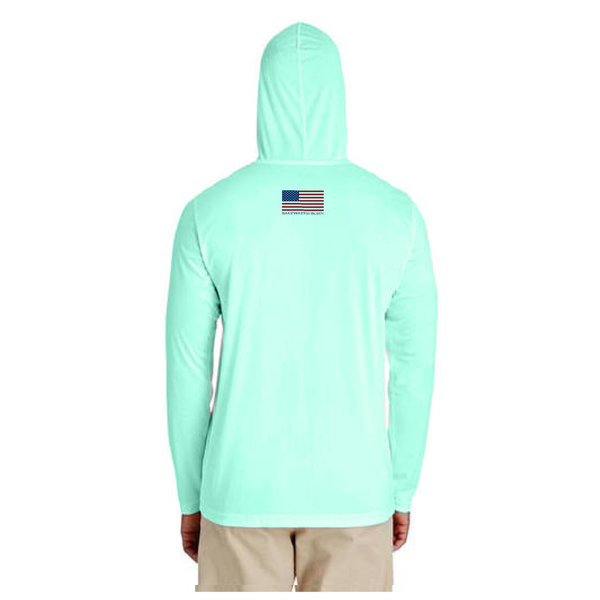 Texas Flag Long Sleeve UPF 50+ Dry-Fit Hoody