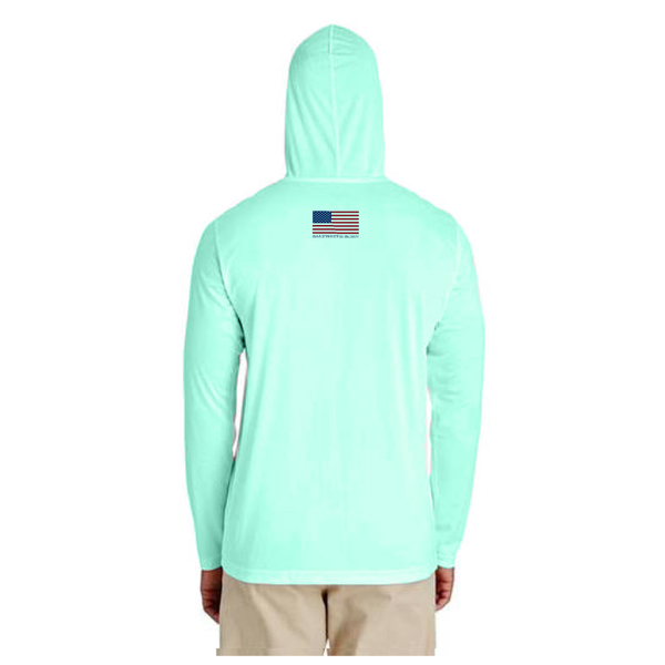 Conch Republic Boys and Girls Long Sleeve UPF 50+ Dry-Fit Hoody